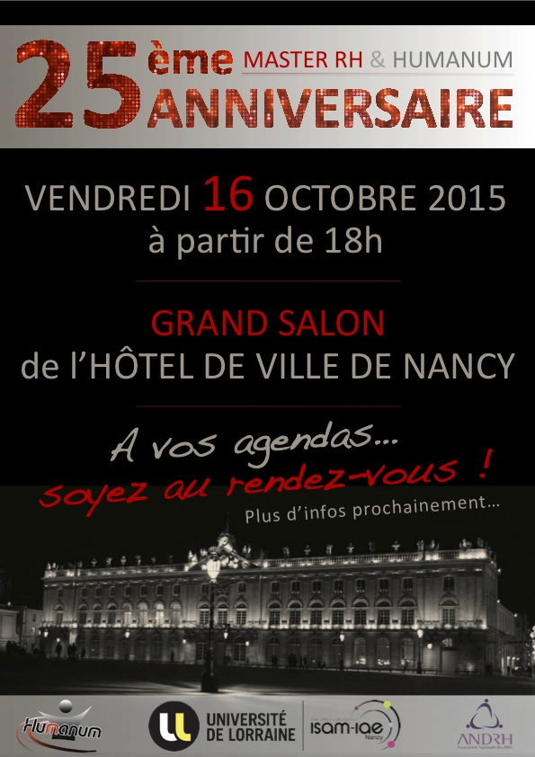 save the date 25 ans